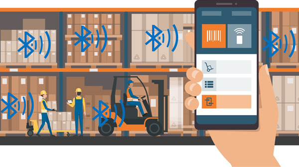 Bluetooth Beacons in the Smart Factory