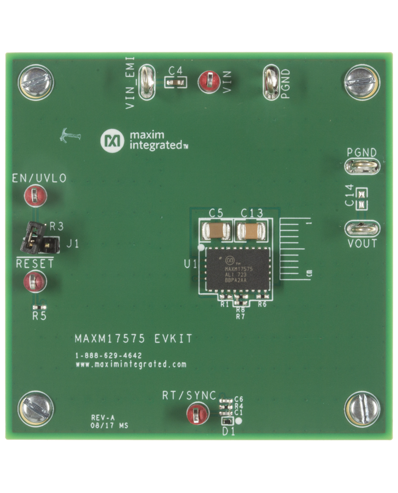 Power Modules Maxim Realtime Clock Calendar Ic Electronics And Electrical Engineering Maxm17575evkit