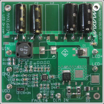Figure 1. The LED driver board.