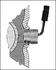 Figure 2. An engine preheater installed in a vehicle. Image courtesy of DEFA.