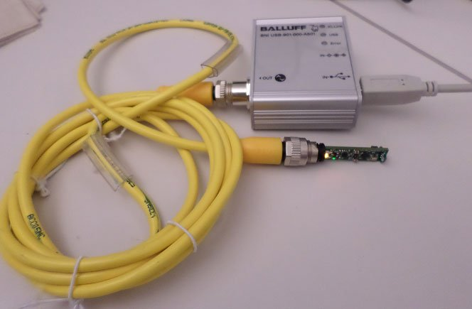 MAXREFDES27#: IO-Link Optical Proximity Sensor