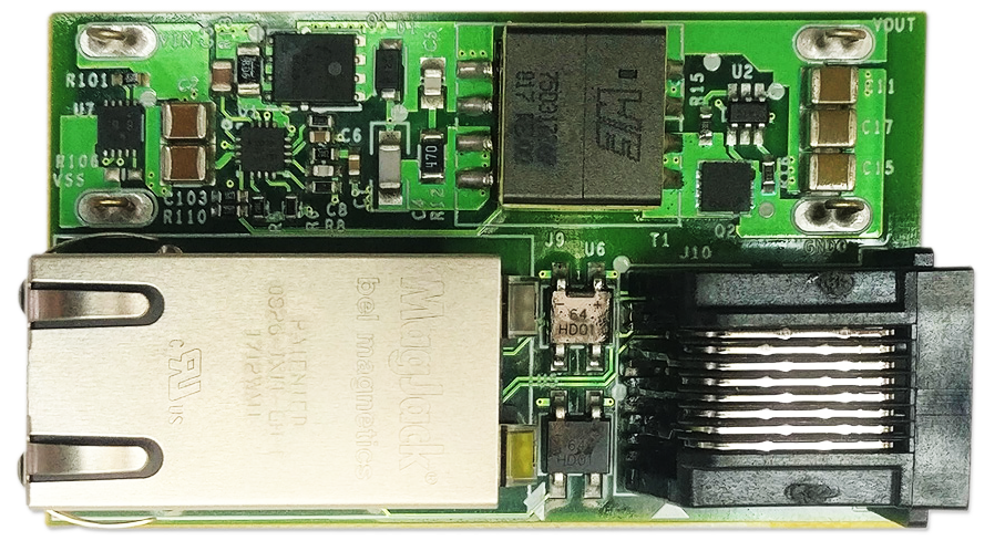 MAXREFDES1178 - PoE Powered Device and Synchronous 12V/600mA No-Opto Flyback DC-DC Converter Using the MAX17690, MAX17606, and MAX5969B