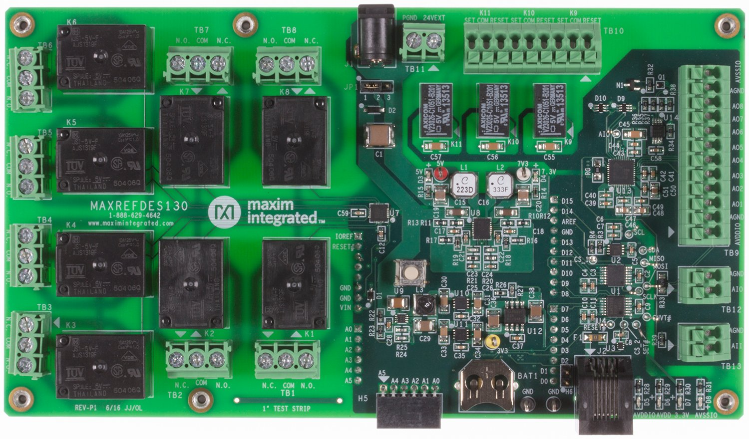 Maxrefdes130 Building Automation Shield Maxim Programmable Logic Microcontrollers Content From Electronic Design System Board