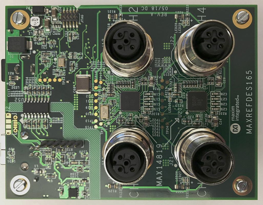 Io Link Reference Designs Maxim Analog Integrated Circuits Design 2012 June Engineering And Four Channel Master Includes 2 Dual Transceivers Digital Isolator Microcontroller Usb Connection