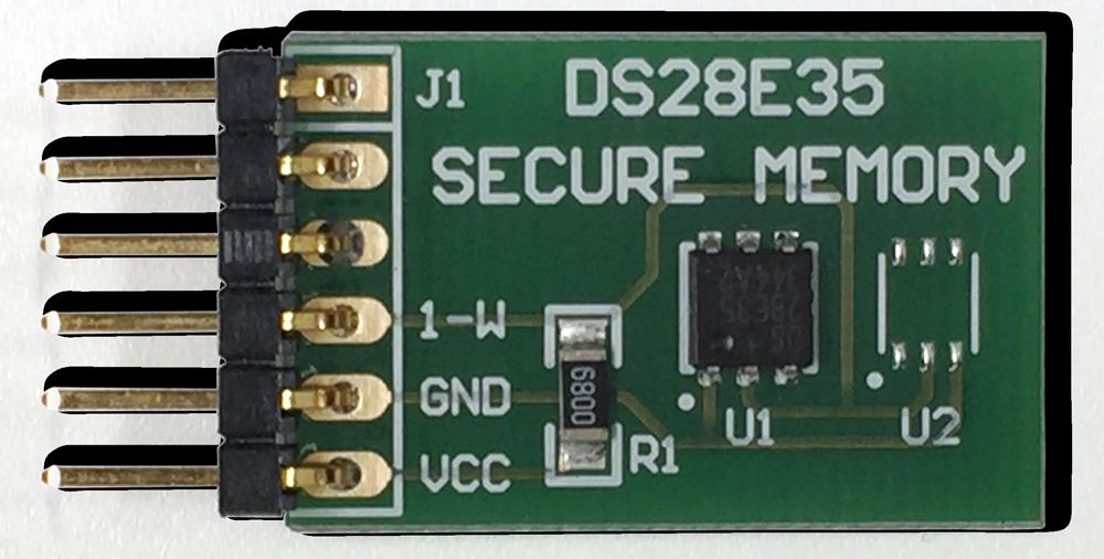 MAXREFDES44#: Secure Authentication Design with 1-Wire ECDSA