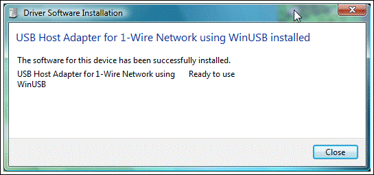 Windows 7 and Windows Vista completion of plug-and-play installation