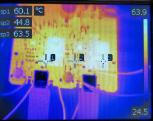 120W PD solution thermal map.