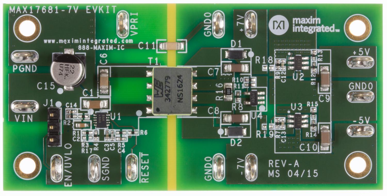 MAX17681 Evaluation Kits - Maxim