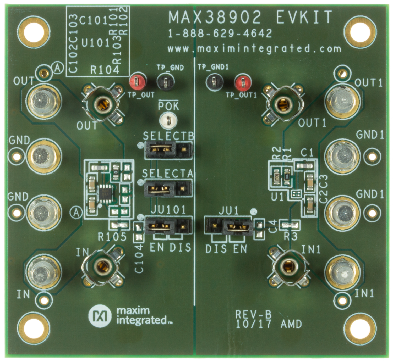 Low Dropout Linear Regulators Ldos Maxim Buy Integrated Electronics Analog And Digital Circuits Systems 2 Max38902evkit