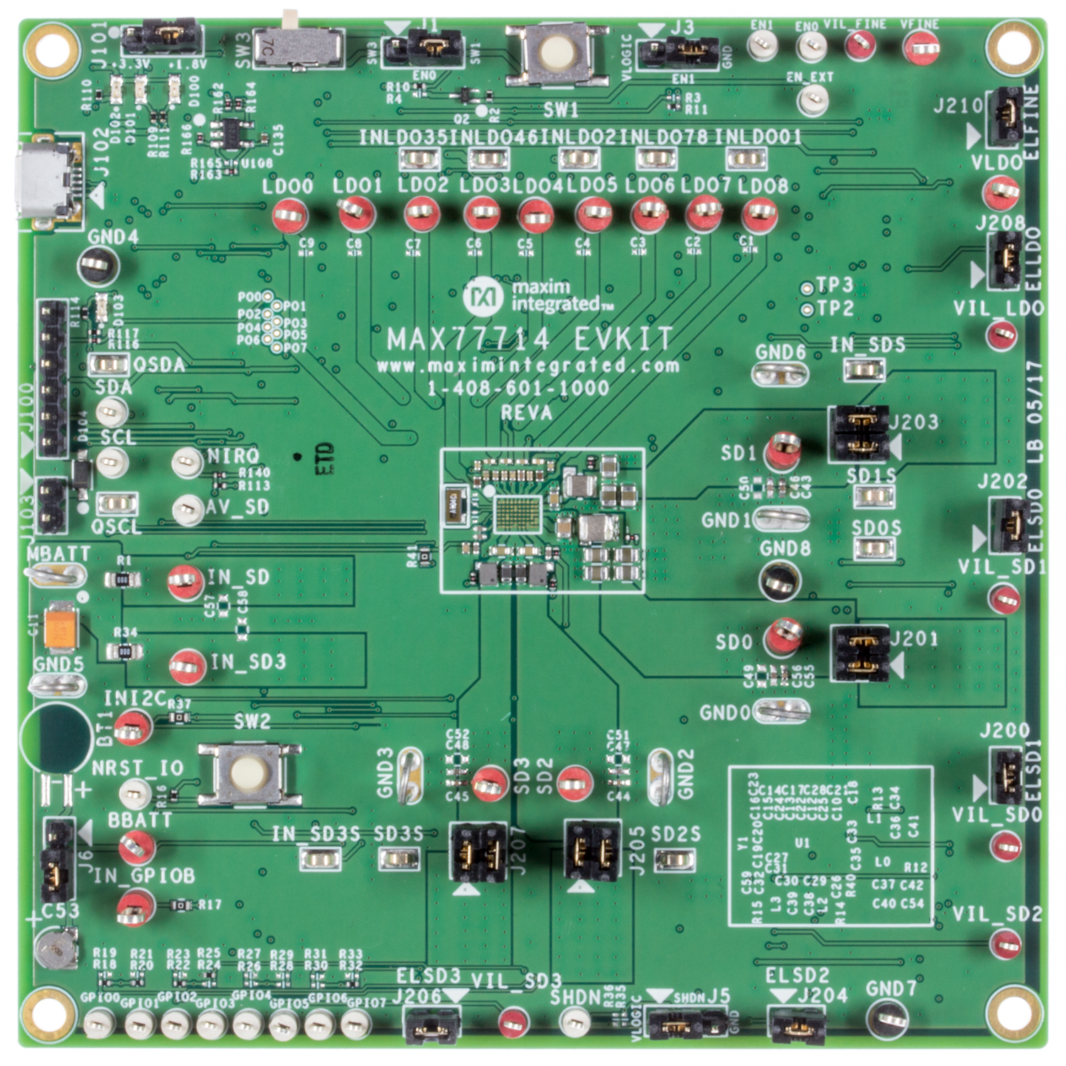 Power Solutions For Xilinx Fpgas Maxim Realtime Clock Calendar Ic Electronics And Electrical Engineering Max77714