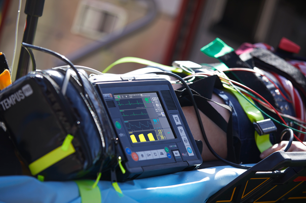 Philips RDT's Tempus Pro is one of the market's smallest, lightest, and most rugged pre-hospital vital sign monitors available. The feature-rich device provides advanced patient data collection and sharing, real-time data streaming, easy in-field expansion options, and smart mount solutions.