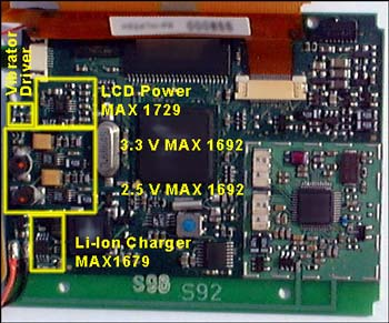 Figure 2b. Actual layout of power supplies.