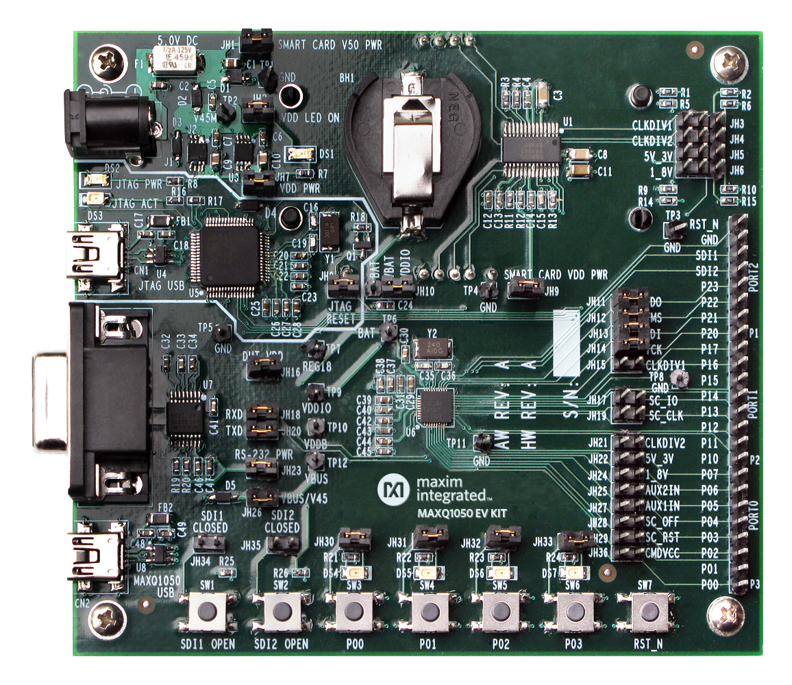 Getting Started With Deepcover Secure Microcontroller Maxq1050 Detecting Open Circuit Very Low Power Electrical More Detailed Image