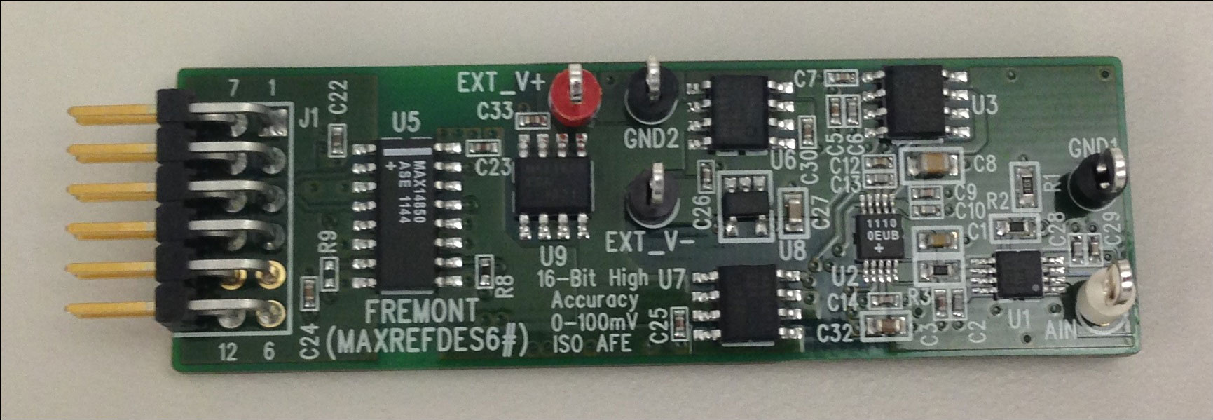 Adc Hardware Block Diagram Embedded Lab Fremont Maxrefdes6 16 Bit High Accuracy 0 To 100mv Input Smart Factories