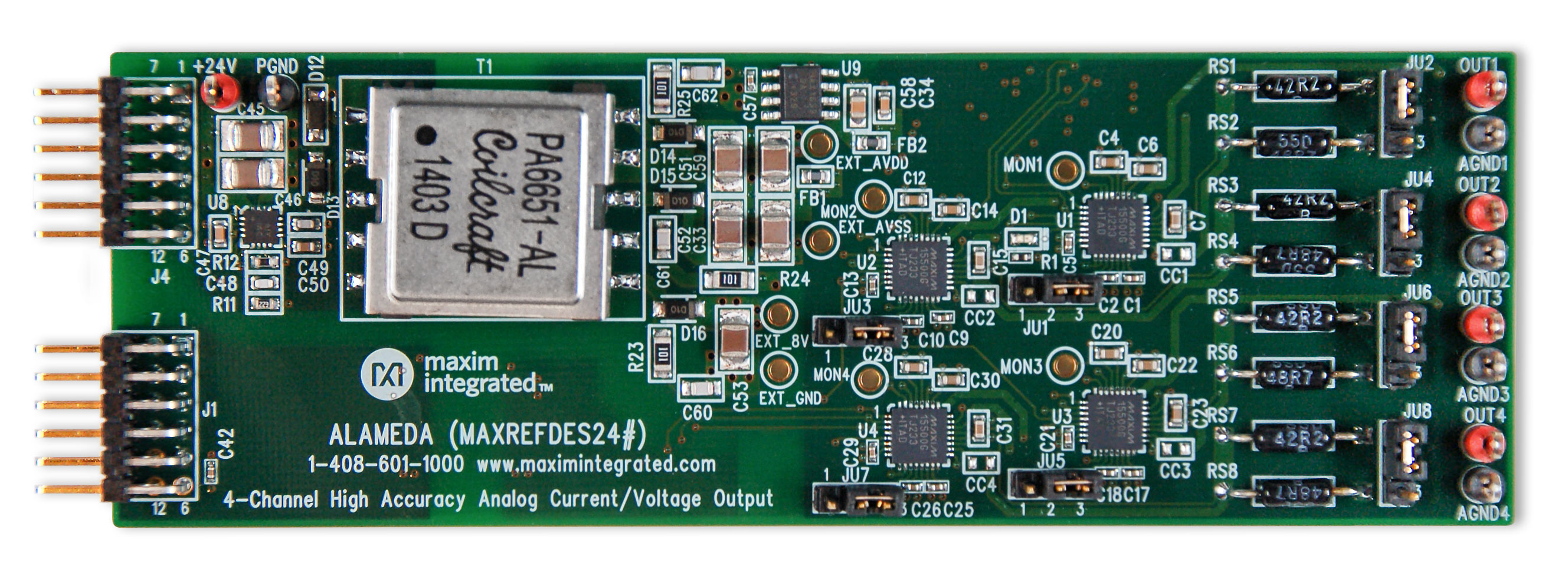 Alameda Maxrefdes24 4 Channel Analog Output Reference Figure 5 Overcurrent Detection Circuit For Pxnx 01a Rails In
