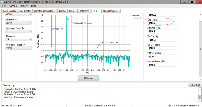How to Calculate ENOB for ADC Dynamic Performance
