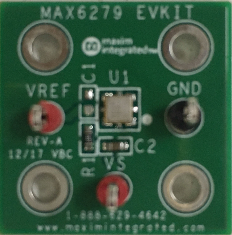 MAX6279EVKIT: Board Photo