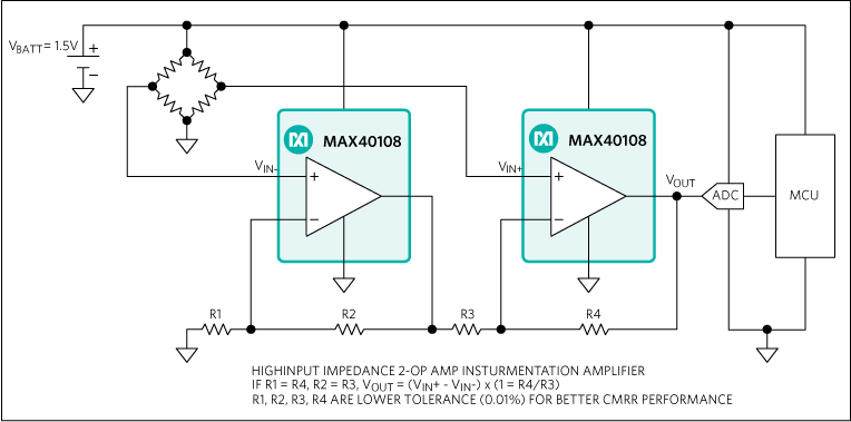MAX40108: Typical Application Circuit