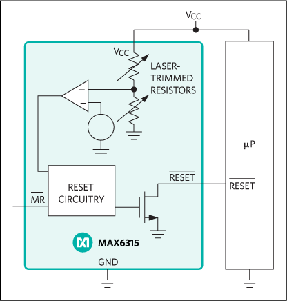 MAX6315: Typical Operating Circuit