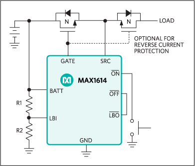MAX1614: Typical Operating Circuit