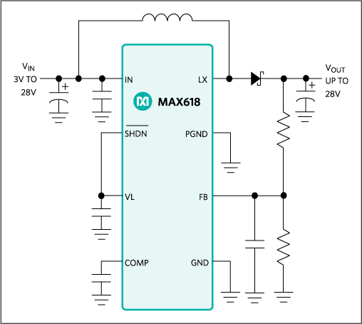 MAX618: Typical Operating Circuit