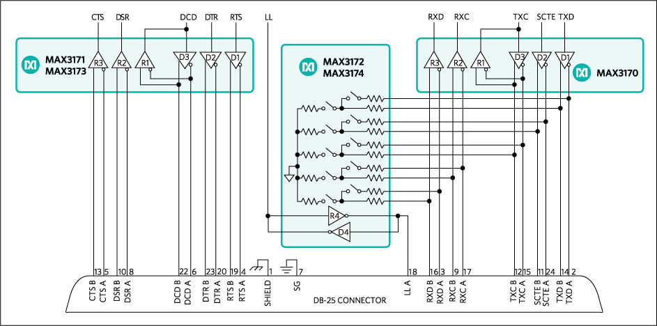 MAX3170: Typical Operating Circuit