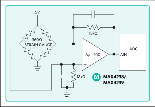 MAX4238, MAX4239: Typical Operating Circuit