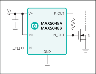 MAX5048A: Typical Operating Circuit