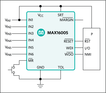MAX16000, MAX16001, MAX16002, MAX16003, MAX16004, MAX16005, MAX16006, MAX16007: Typical Operating Circuit
