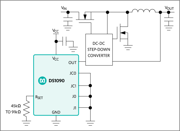 DS1090: Typical Operating Circuit