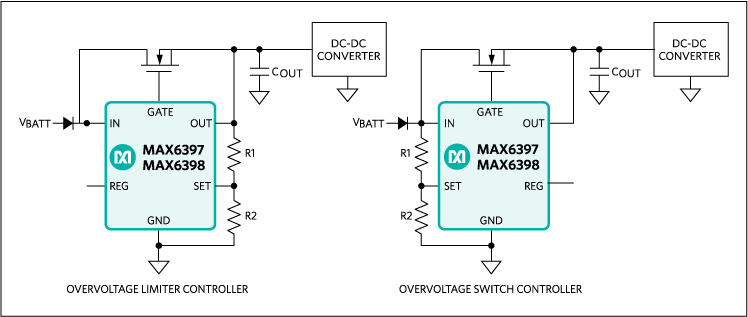 MAX6397, MAX6398: Typical Operating Circuit