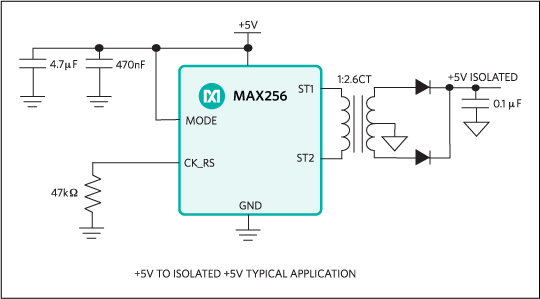 MAX256: Typical Operating Circuit