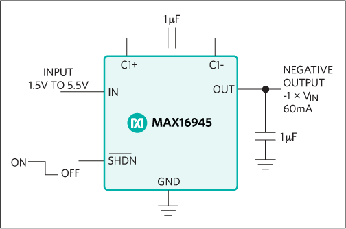 MAX16945: Typical Operating Circuit
