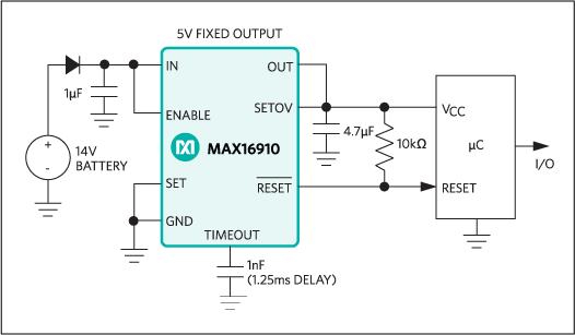 MAX16910: Typical Operating Circuit