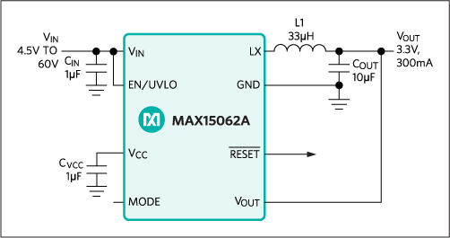 MAX15062: Typical Operating Circuit