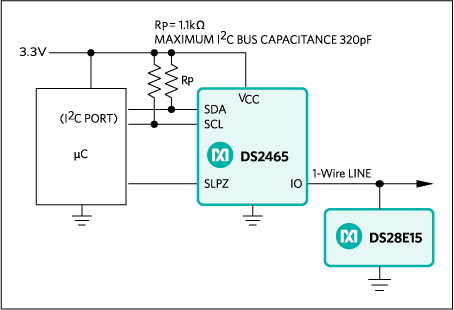 DS28E15: Typical Application Circuit