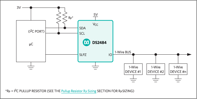 DS2484: Typical Application Circuit