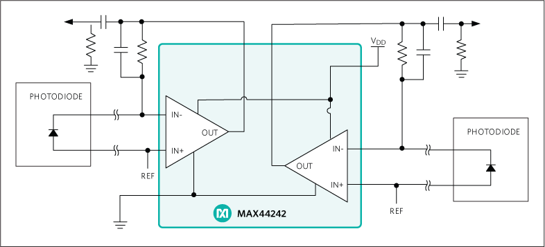 MAX44242: Typical Application Circuit