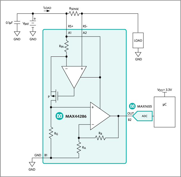 MAX44286: Typical Application Circuit