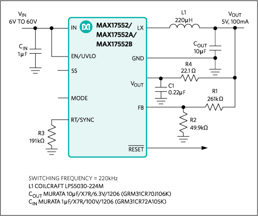 MAX17552: Typical Application Circuit