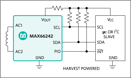 MAX66242: Typical Application Circuit