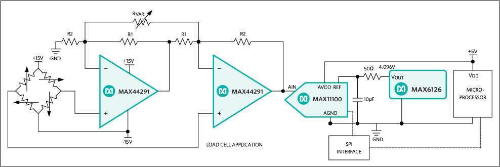 MAX44291: Typical Operating Circuit