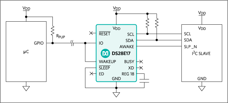 DS28E17: Typical Operating Circuit