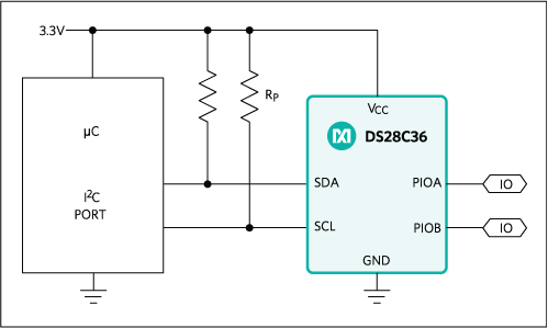 DS28C36: Typical Application Circuit