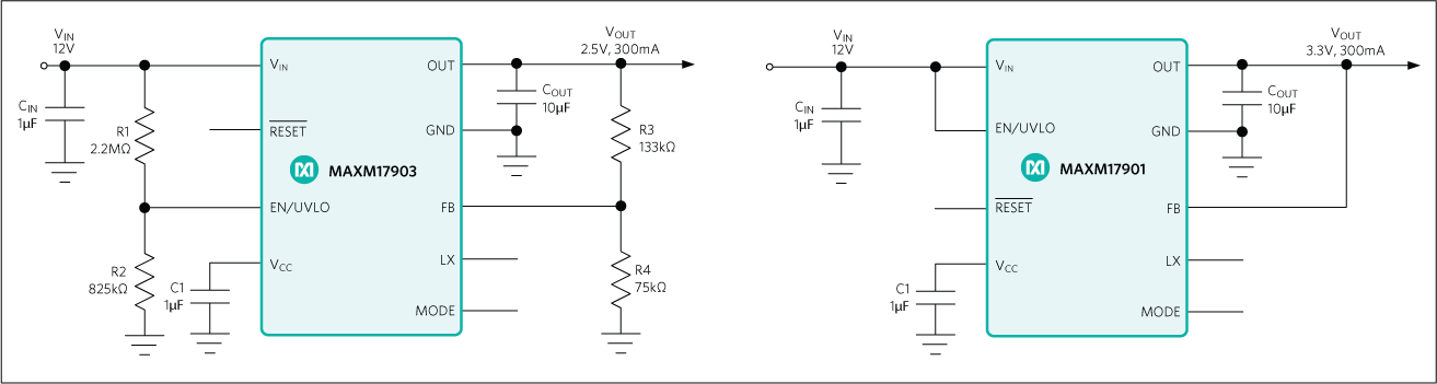 MAXM17903: Typical Application Circuit