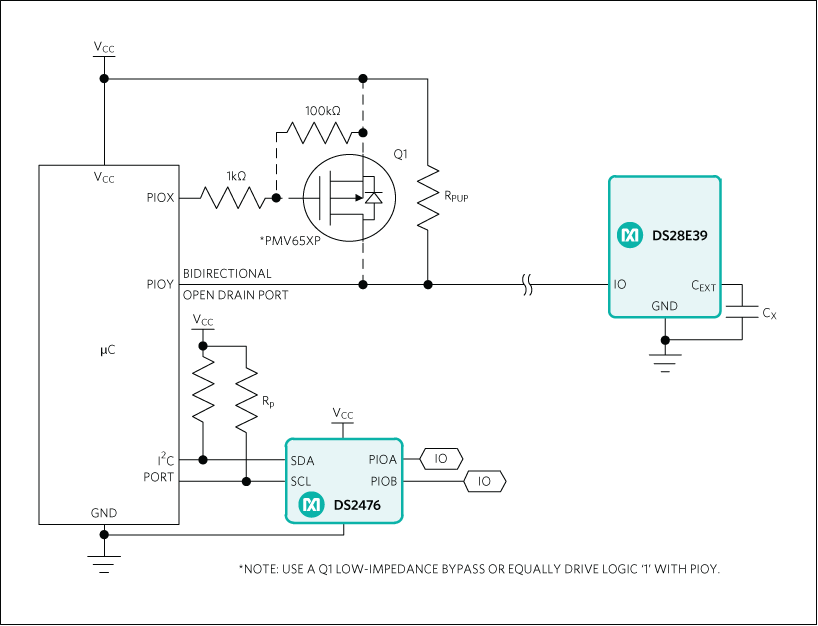 DS28E39: Typical Application Circuit